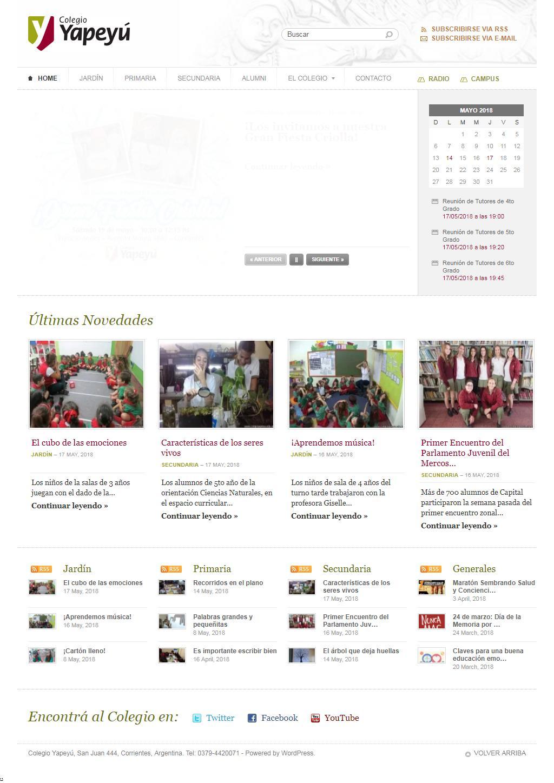 Colegio Yapeyú Pagina Completa