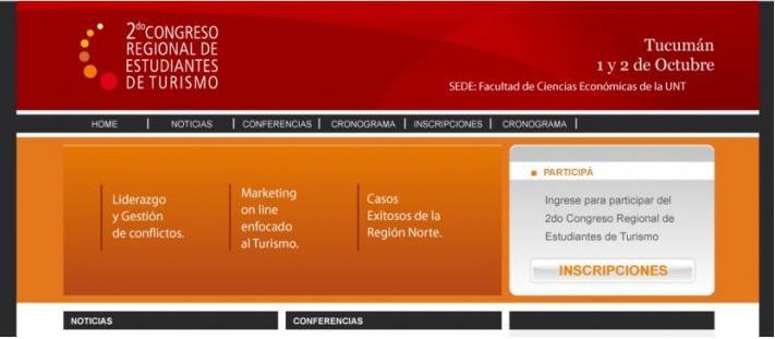 Congreo de Turismo 2009 Recorte WebExport