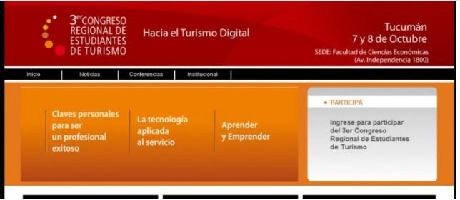 Congreso de Turismo 2010 Recorte Web Export